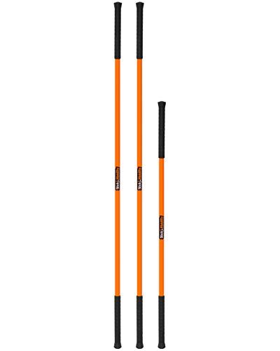 "6-Foot Mobility Stick, 1.5"" Wide, Simple & Flexible Tool, Creates Tension, Leverage, Stability, & Body Awareness, Increases Athletic Performance, Reduces Risk of Injury, & Speeds Up Recovery"
