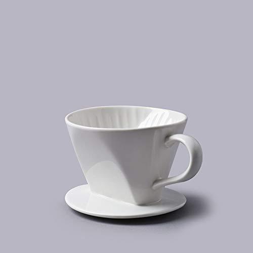 Cks Céramique Blanche Cône De Filtre À Café