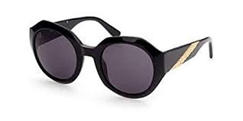 Just Cavalli Damen-Sonnenbrille, Modell JC 1001, Farbe 01A, Größe 52/24
