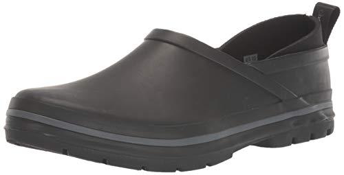 Chooka Women's Madrona Neoprene Waterproof Step-in Shoe with Memory Foam Insole Rain, Solid Black, 6