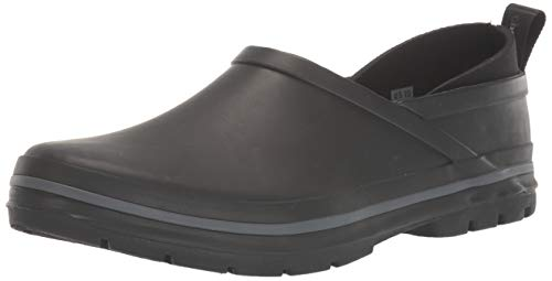 Chooka Women's Madrona Neoprene Waterproof Step-in Shoe with Memory Foam Insole Rain, Solid Black, 6