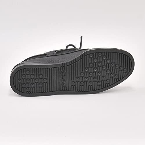 [パラブーツ]デッキシューズメンズボートシューズブラックBARTHバース正規取扱店8サイズ(26.5cm相当)