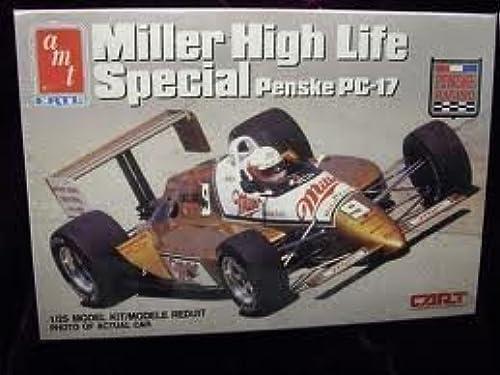 Miller high Life Special Penske PC-17 1 25 model kit by AMT Ertl