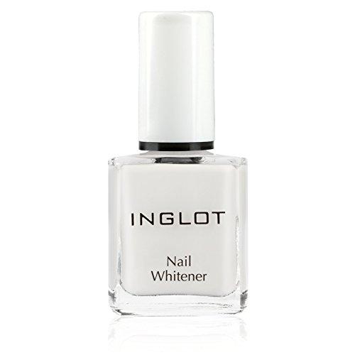INGLOT Nail Whitener - Nagelweißer, Nagelpflege für sichtbar weißere und geschmeidige Nägel | Optische Aufhellung der Nägel/enthält Nachtkerzenöl, Grüntee-Extrakt und Panthenol