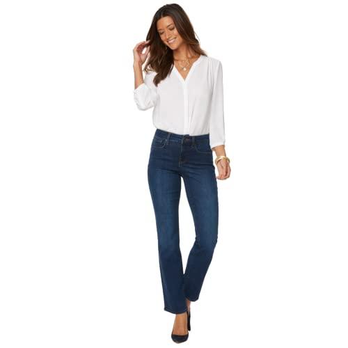 NYDJ Women's Marilyn Straight Denim Jeans, Cooper, 14