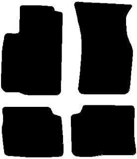 Mitsubishi colt 2004-2009 noir sur mesure heavy duty caoutchouc voiture tapis de sol