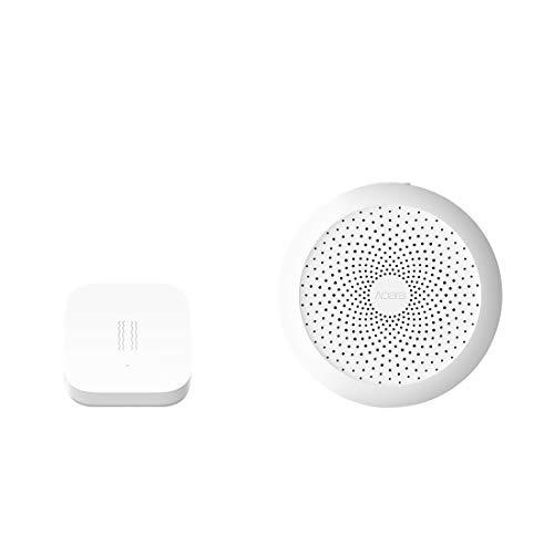 Aqara Vibration Sensor Plus Aqara Hub, Zigbee Connection, Wireless Mini Glass Break Detector for Alarm System and Smart Home Automation, Compatible with Apple HomeKit