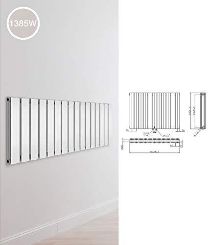 Design Paneelheizkörper einlagig zweilagig Flachheizkörper Bad Heizkörper Heizung, Ausführung:Doppellagig, Maße:600 x 832 x 78 mm