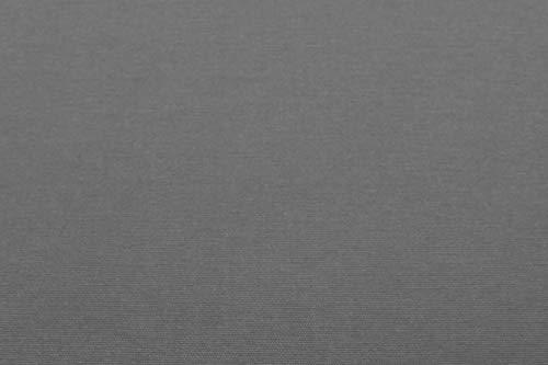 Brandsseller Bierbankauflage (gepolstert) & Tischdecke im 3tlg. Set für alle gängigen Bierzeltgarnituren - 2X Auflagen 220 x 25 x 1,6 cm & 1x Tischdecke 240 x 70cm, Farbe : Grau - 3