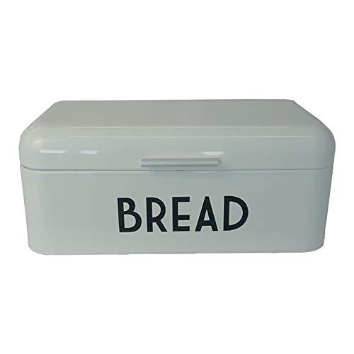 Mooderff Broodtrommel, metaal, Europese broodbak-keuken-bewaardoos voor laibe, zelfgemaakt brood, bagel, gebak, koekjes