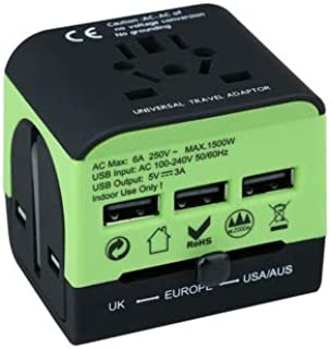 Travel Adapter.Universal Travel Adapter.All in one travel Adapter.The best International Universal travel adapter,This Adapter is built for the world, A great gift for a traveler,covers all countries,Europe,/America/Australia/UK