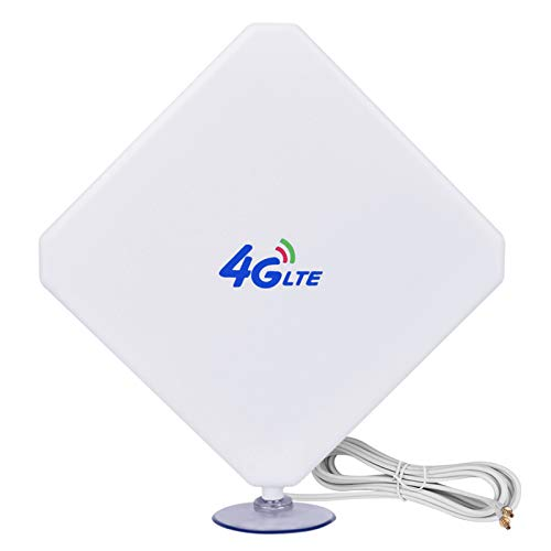 Aigital 4G LTE Antena CRC9 35dBi Dual Mimo Antenna Amplificador de Señal...
