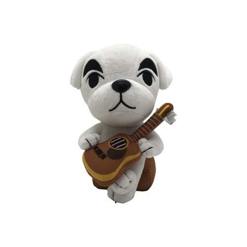 L&C Animal Crossing Plush Toys Cartoon Anime Animal Crossing Plush Doll Cute Animal Friends Association Series Giocattoli Peluche 21cm/K.K.