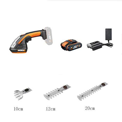 Gyt& 20-V-Lithium-Akku-Trimmer, Lithium-Elektro-Trimmer, Multifunktions-Jäten, elektrische Gartenschere,B