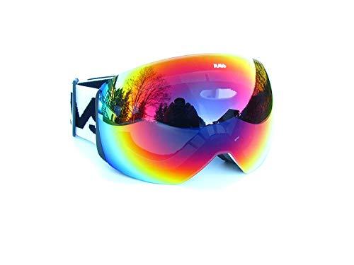 Ravs Skibril, snowboardbril, veiligheidsbril, skiing goggles, Alpine sportbril, sneeuwbril voor brildragers