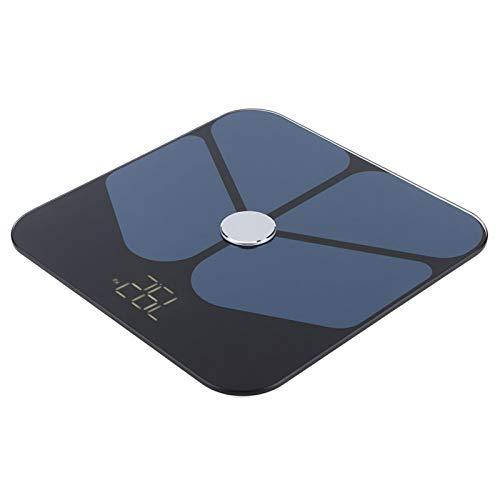 Emoshayoga Balance de Peso Báscula Digital electrónica Báscula de Peso Corporal precisa Báscula con tecnología de Recubrimiento ITO para Frutas y Verduras