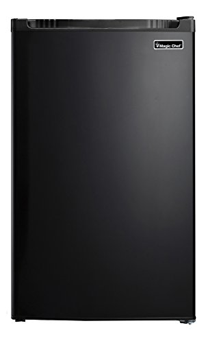 Magic Chef MCBR440B2 Refrigerator, 4.4 cu. ft, Black