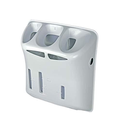 Waschmittelkasten Einspülschale Waschmittelschublade Waschmaschine Waschgerät Toplader ORIGINAL Whirlpool Bauknecht 481075258622 Indesit Hotpoint C00311916 passend auch Privileg Ignis Balay Constructa