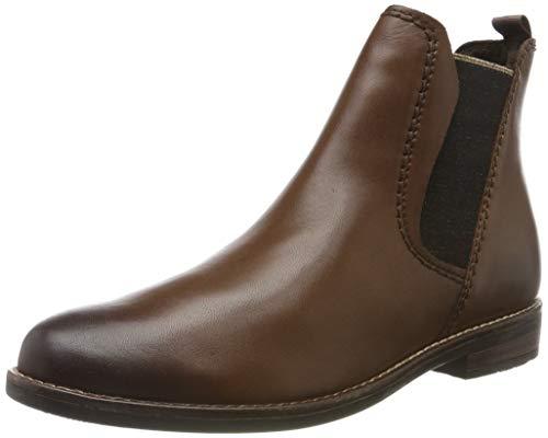 MARCO TOZZI Damen 2-2-25366-33 Chelsea Boots, Braun (Chestnut Antic 300), 38 EU