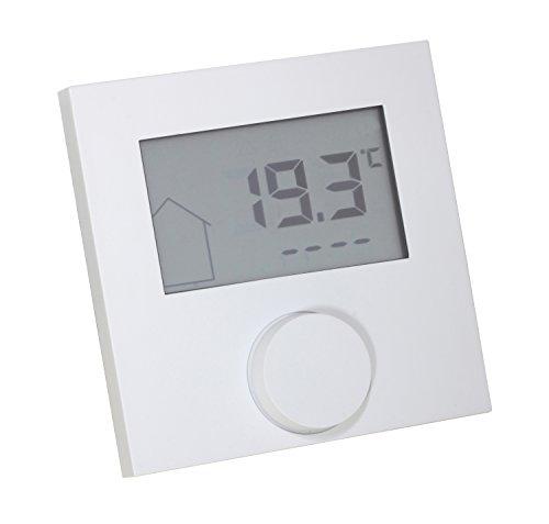 Raumthermostat LCD Alpha direct 24V weiß für Fußbodenheizung