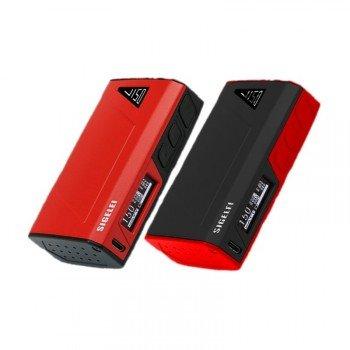 Sigelei J150 Box Mod 150W TC Akkuträger Farbe Schwarz/Rot
