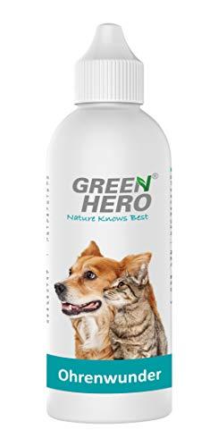 Green Hero Ohrenwunder, Pflegt bei Juckreiz, Milben & mehr, 1 x 200 ml