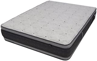 """Monterrey 14"""" Euro Pillow TopWaterbed ReplacementMattress, California Queen Drop in, Firm, Double Sided, Designed to Fit Inside a Waterbed Frame by Therapedic"""