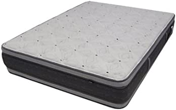 """Monterrey 14"""" Euro Pillow TopWaterbed ReplacementMattress, Super Single Drop in, Firm, Double Sided, Designed to Fit Inside a Waterbed Frame by Therapedic"""