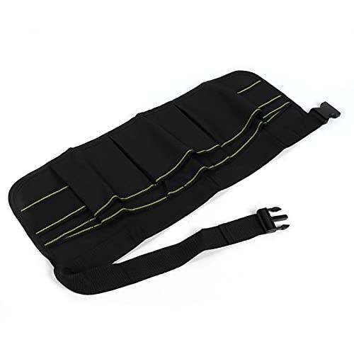 Alvinlite Bolsa de cinturón de Electricista Kit de reparación de Electricista para Martillo de Llave Negro 60x23cm/23.5x9 Pulgadas