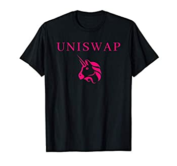 Uniswap Token Logo Ethereum Decentralized Cryptocoin DeFi T-Shirt