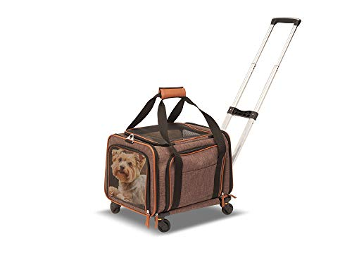 Petpeppy.com PET Peppy Premium Airline Approved Expandable Pet Carrier with...