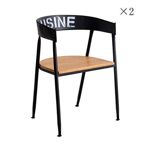 Annp Draagbare loungestoel, rugleuning, ijzeren kunststoel, huishouden, eetkamerstoel, massief houten bureaustoel, speelstoel, 50-55 cm
