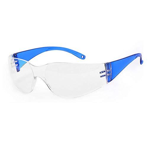 WYNZYHMJ Professionelle Kind Schutz Okulare, Kinder Experimentelle Transparente Anti-Spritzen Anti-Fog Und Anti-Schock Schutzbrille (Farbe : D)
