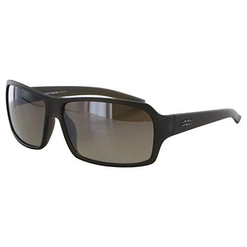 Vuarnet Extreme Unisex Square Fashion Sunglasses Brown, Yellow Smoke