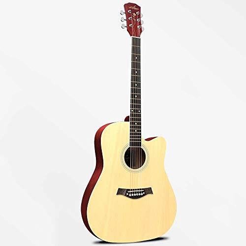 Boll-ATur Akustische Gitarre for Anfänger - Mehrfarbig Optional 40-Zoll- / 41-Zoll-Traveller-Gitarre Wasserdichte Gitarrentasche Saite for elektronische Stimmgeräte (Color : 41 Inch Style 5)
