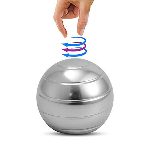 Dyna-Living Kinetic Schreibtisch Spielzeug Kugel Kinetic Desk Toy Büro Office Stressabbau Spinning Ball für Erwachsene & Kinder, Anti Angst ADHS Entlasten Stress Hypnotische Spielzeug 45mm