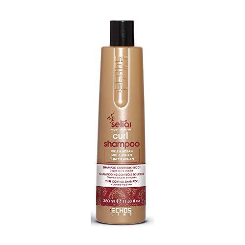 Echosline Seliàr Curl Shampoo Controllo Ricci Con Miele O Olio Di Argan - 350 ml