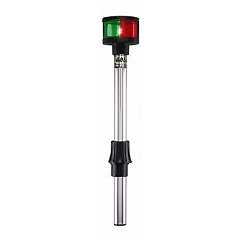 "Perko 1612DP2BLK Removable Bi-Color Pole Light - 12"""