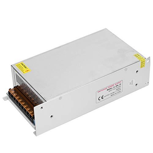 Dpofirs Interne Stromversorgungen aus 24-V-Aluminiumlegierung für LED-Anzeige, Videoüberwachung, Schaltnetzteil Treiberadapter für LED-Bildschirm Lichtleiste 3D-Drucker(24 V / 33,3 A / 800 W.)