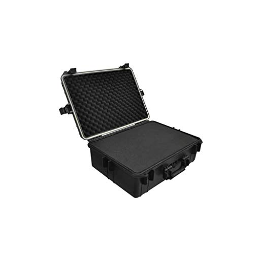 VidaXL Fotokoffer transportkoffer wapenkoffer universele koffer kunststof 35L capaciteit