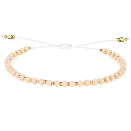 KELITCH Charm Bracelet New Colorful Friendship Bracelets Strand Bracelets Handmade Woven Friendship Bracelet Rope Handmade Classic Jewelry for Women