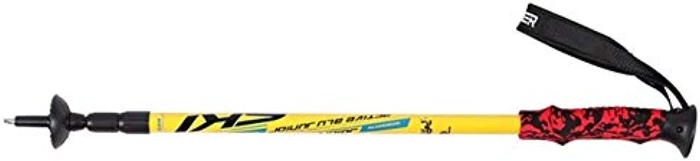 5 color Hiking Alpenstock Carbon Fiber Climbing Cane Trekking Pioneer UltraLight Ski Pole Walking Sticks 1 Pair H5   Y1pcs