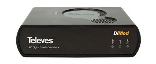 Modulador Digital Televes Hdmi Dimod Ref. 585401. Convierta Una Señal De Audio Y Vídeo (Hdmi) En Un Multiplex Digital (TDT O Dvb-C) Más De Su Instalación.