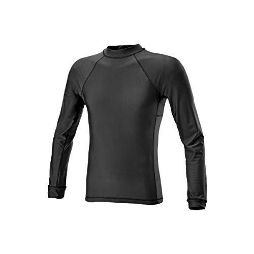 DEFCON 5 Tee-Shirt Manches Longues Lycra + Mesh Noir