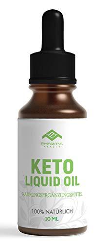 PHARMA HEALTH | Keto Liquid Oil | abnehmen | für Frauen unnd Männer | schnell, vegan | ohne Koffein | 10g