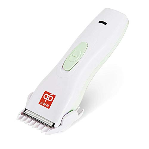 Hair Clippers,Hair Trimmer,Professional Hair Clippers,Hair Trimmers for Men,Body Groomer,Straight Razor, Baby and Children Waterproof Rechargeable Hair Clipper-White + Blue