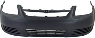 Front Bumper Cover Compatible with 2005-2010 Chevrolet Cobalt Primed Base/LS/(LT Model)
