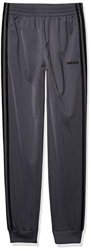 adidas Boys' Big Active Sports Athletic Tricot Jogger Pant, Core Linear Onix, Large