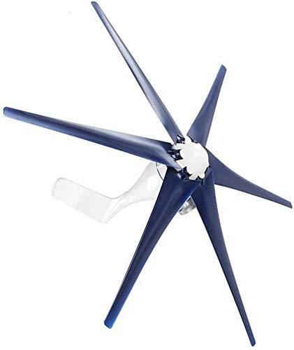 Fangfang Turbina de Viento, Mini turbinas de Viento generador, 6 Suministros Hoja 200W de Potencia trifásica del alternador aerogeneradores, 48v,Kit (Color : 48v)