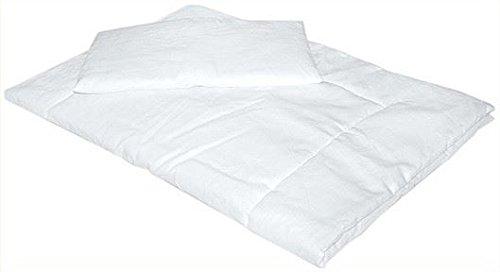 Doux Hypoallergénique Couette 135 x 100 avec taie d'oreiller pour chambre d'enfant Lit pour bébé